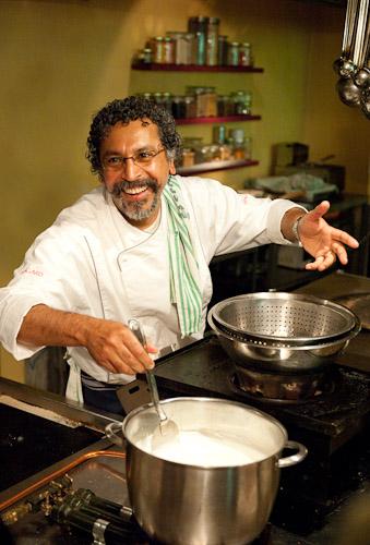 Ajoy Joshi, chef/owner of nilgiri's restaurant in Sydney